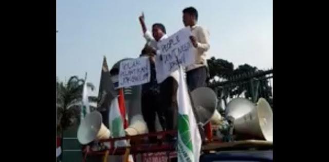 Video Tolak Pelantikan Jokowi Sudah Beredar Luas