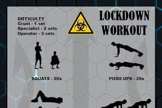 LOCKDOWN WORKOUT
