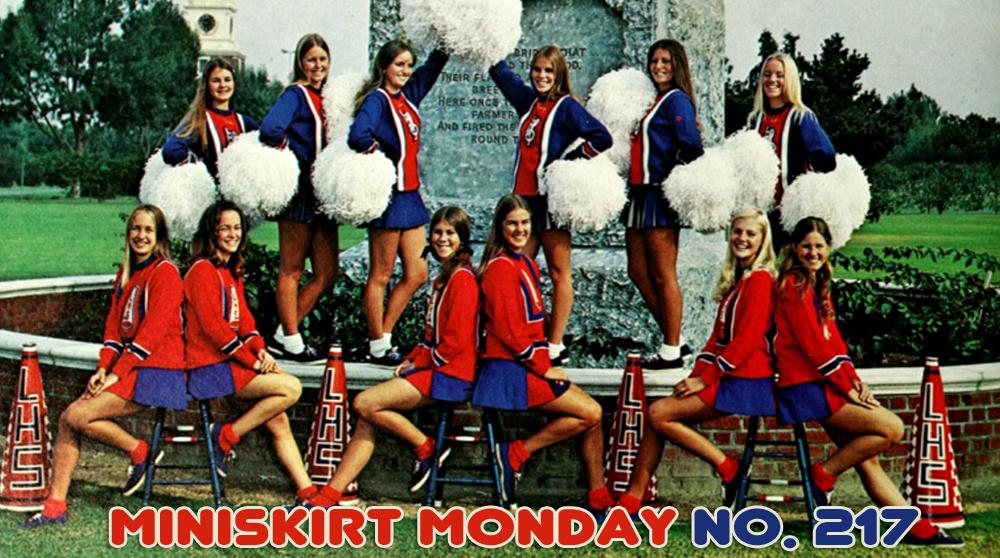 mini Amateur skirts in girls