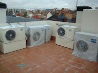 aerotermia o geotermia con suelo radiante