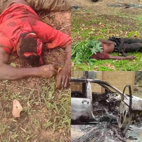 Ghastly Massacre;  Suspected Herdsmen Attack Communities, Many Dead