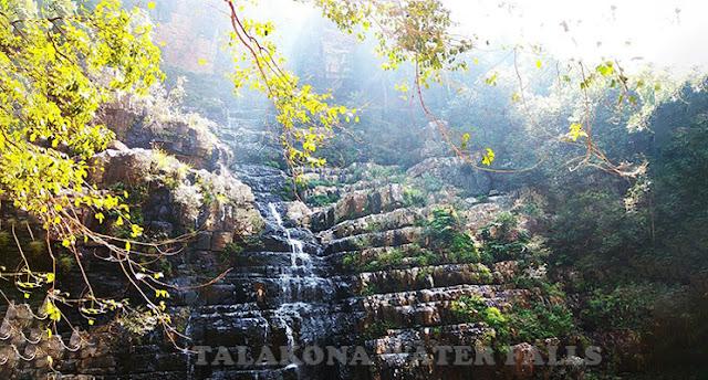 Talakona Water Falls- Chitoor Dist