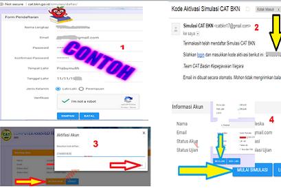http://cat.bkn.go.id Alamat untuk Login Simulasi CAT CPNS 2017