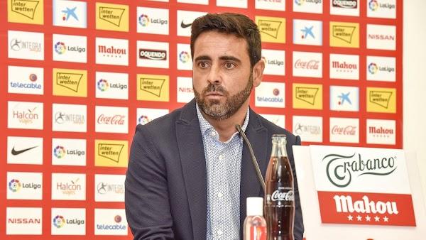 """Gallego - Sporting -: """"El Málaga es un equipo con mucho potencial ofensivo"""""""