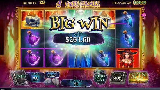 Bonus Level 4 Halloween Fortune Slot Online
