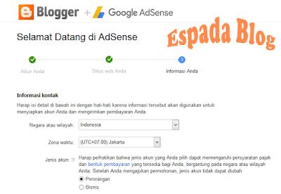 Cara Mendaftarkan Blog Ke Google Adsense 18