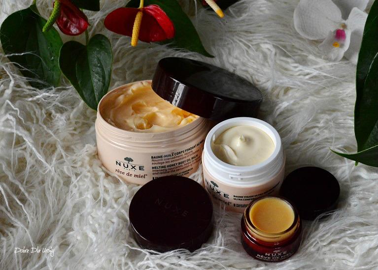 Nuxe Reve de Miel - nowości, miodowe kosmetyki