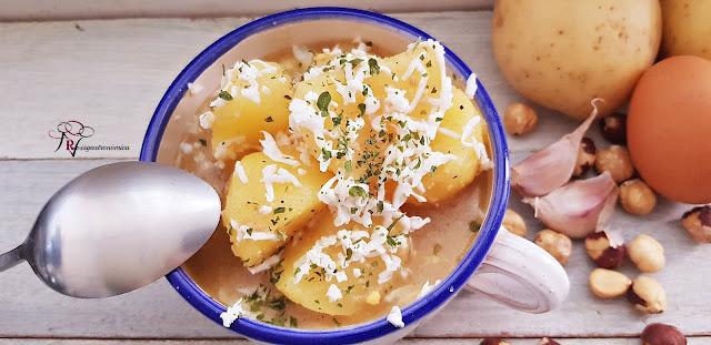 Patatas con avellanas de las monjas Dominicas