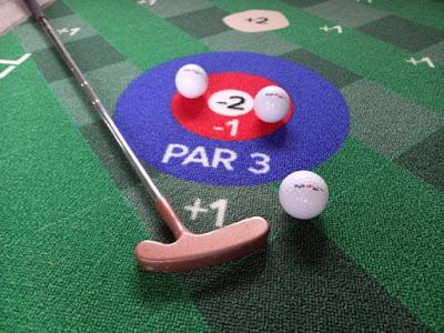 Putt18 Indoor Golf Putting Game Mat