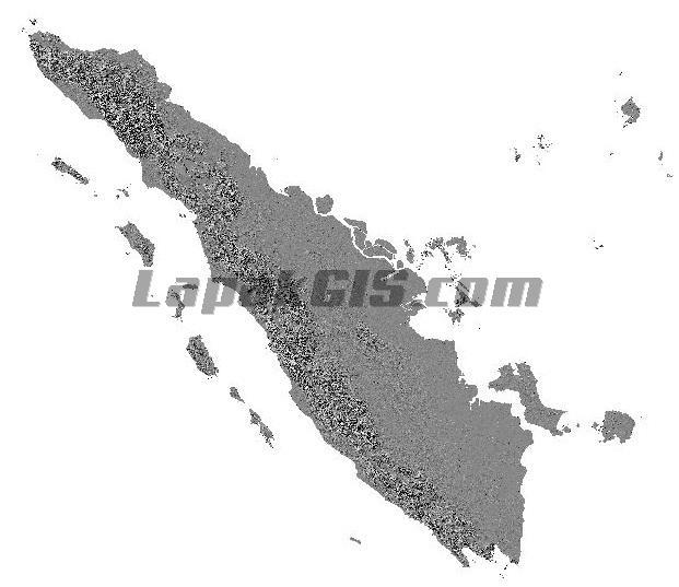 Hillshade DEM Gabungan (Mosaic) Seluruh Indonesia Gratis