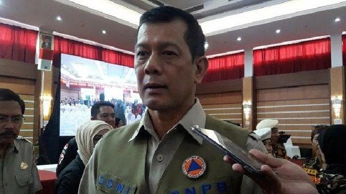 Kepala Badan Nasional Penanggulangan Bencana (BNPB) Doni Monardo