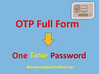OTP-Full-Form