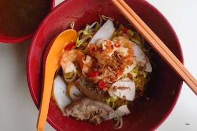 Covent Garden Prawn Noodle, 粉肠虾面