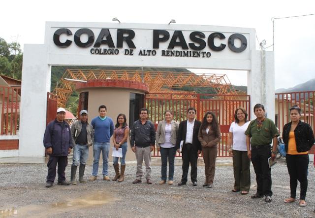 Colegio de Alto Rendimiento Pasco - COAR Pasco