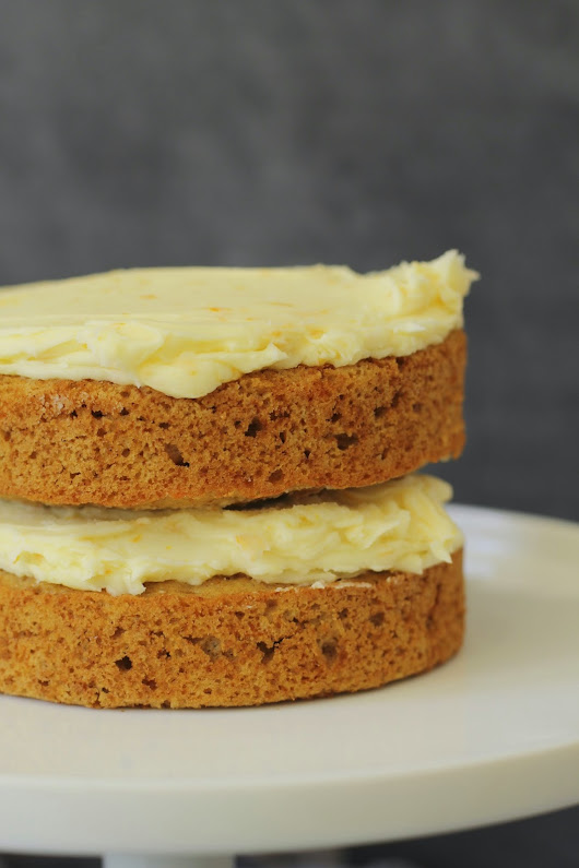 Mini Carrot Cake with Essence of Orange Frosting