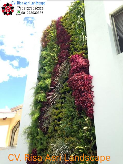 JASA PEMBUATAN VERTICAL GARDEN (TAMAN DINDING) SURABAYA, GRESIK, SIDOARJO  jasa pembuatan vertical garden (dinding hijau) di Surabaya, Gresik, Sidoarjo  Jasa Vertical Garden Surabaya, Gresik, Sidoarjo - Jasa Pembuatan Green Wall
