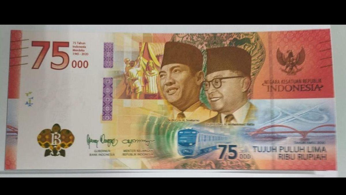 Uang Edisi Khusus 17 Agustus DIterbitkan, Ternyata Ini Bedanya dengan Uang Biasa