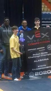 Montgomery Catholic RoboKnights Win State Tournament 1