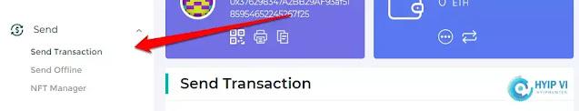 Gửi tiền ETH - Ethereum