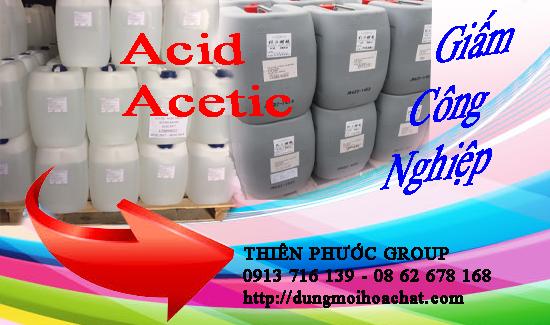 Acid Acetic – Giấm Công Nghiệp giá rẻ phân phối tại Dung môi hóa chất Thiên Phước