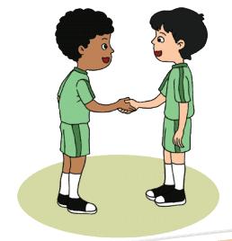 gambar 2 anak sedang saling memaafkan www.simplenews.me