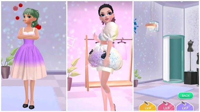 لعبة تصميم ازياء بنات Yes, that dress