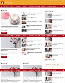 Giao diện Web tin tức báo chí - Theme Blogspot - Blogspotdep.com