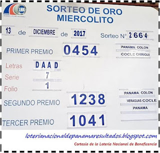 resultados-sorteo-miercoles-13-de-diciembre-2017-loteria-nacional-de-panama-tablero-oficial
