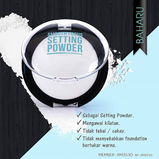 Smooth Focus Setting Powder Sendayu Tinggi