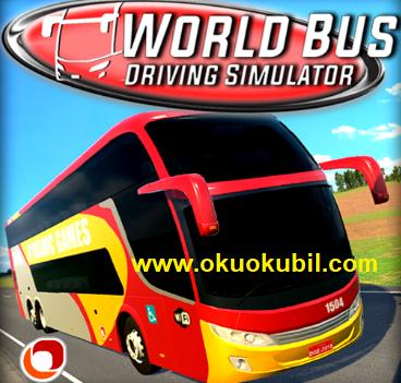 World Bus Driving Hızlı Otobüs v0.96 Mod Apk Simulator 2020