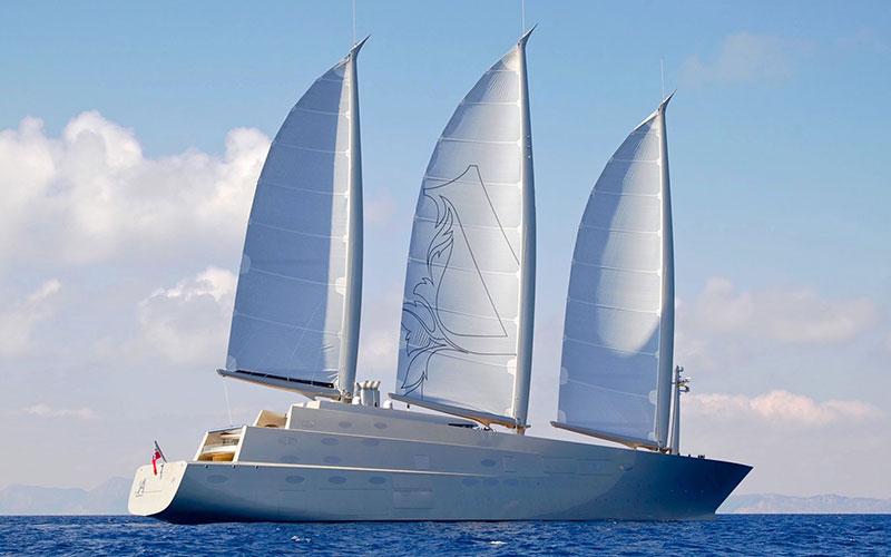 Топ 10 дорогих яхт мира и Sailing Yacht A