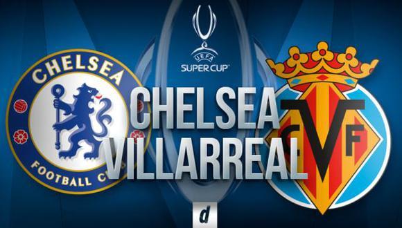 Chelsea - Villarreal EN VIVO por Supercopa de Europa: ver vía ESPN en directo