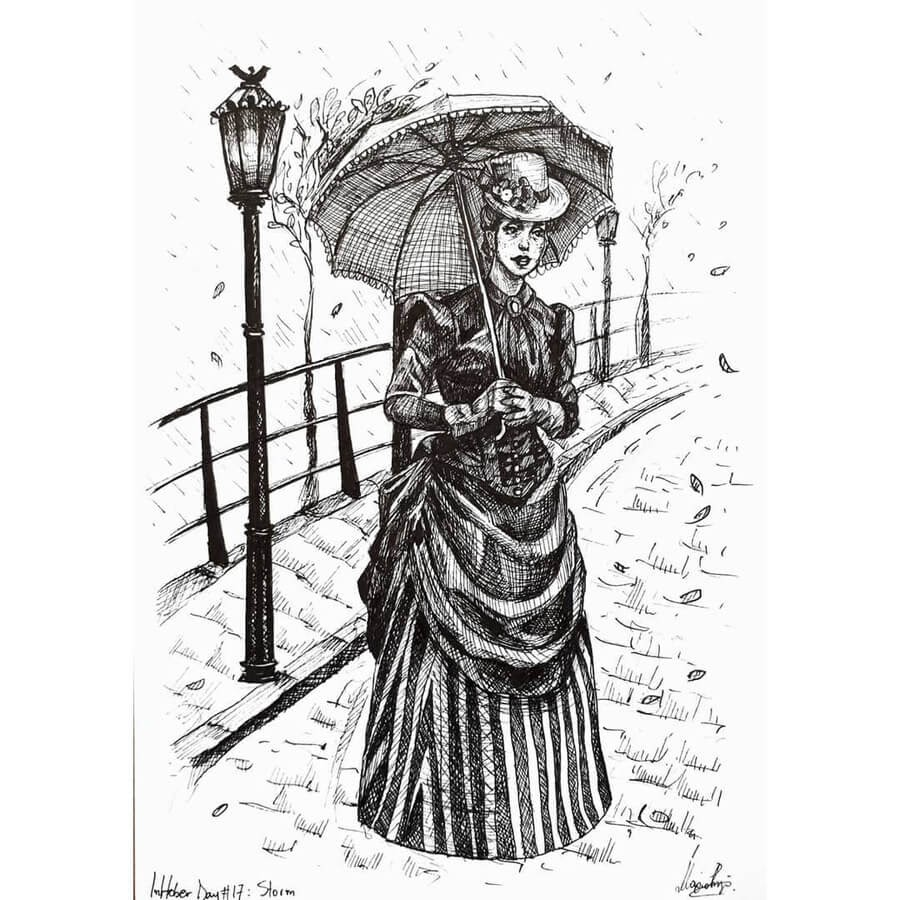 10-Victorian-Lady-in-London-Maria-Riga-www-designstack-co