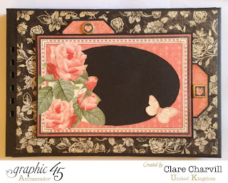 Mon Amour  Scrap Book Clare Charvill Graphic 45