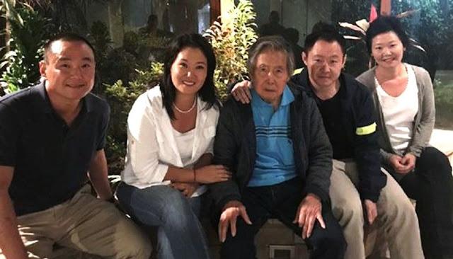 Hijos de Alberto Fujimori presentan habeas corpus para su excarcelación