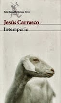 Lectura de Intemperie de Jesús Carrasco