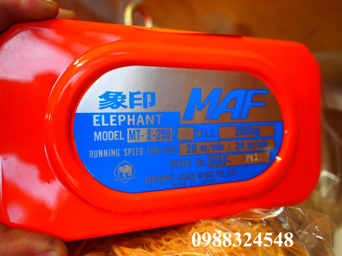 Pa lăng điện xích Elephant FAM-0.25 250kg