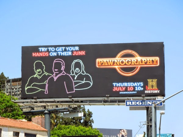 Pawnography Try to get your hands on their junk billboard