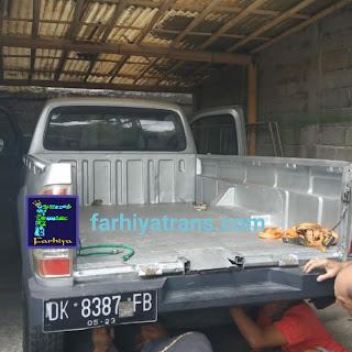 tarif biaya harga ongkor kirim sepeda motor truk tronton trailer alat berat excavator bus surabaya makassar
