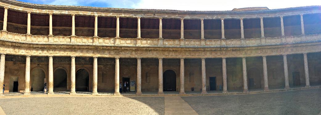 Carlos V at Alhambra