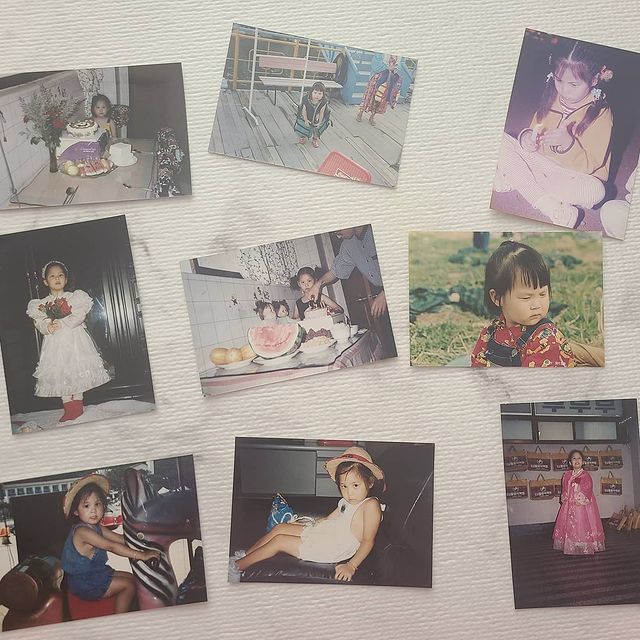 SNSD Seohyun childhood pictures