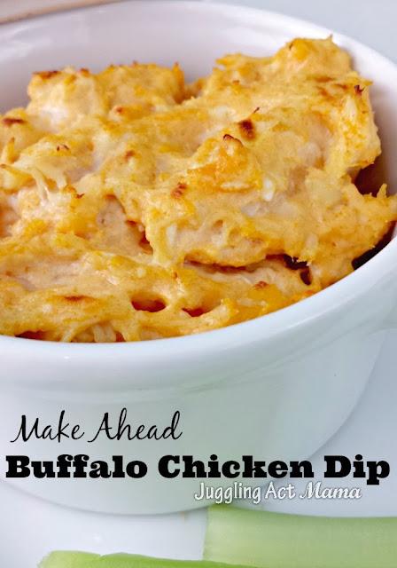 Easily the Best Buffalo Chicken Dip you've ever eaten!