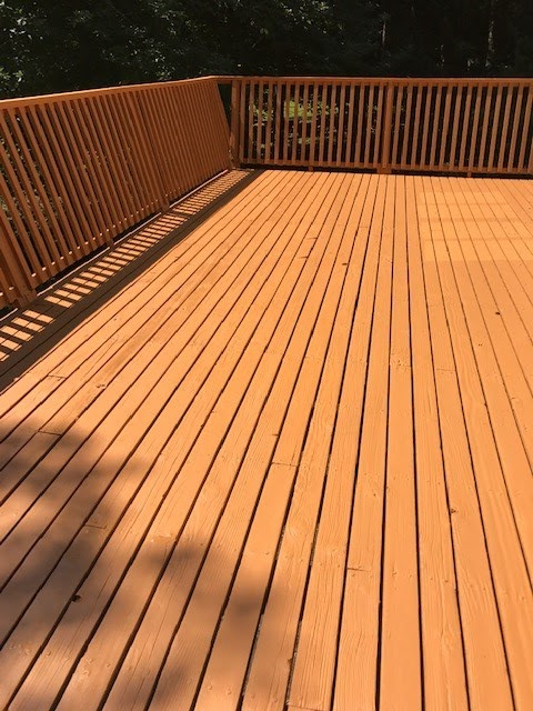 Deck Staining (After)