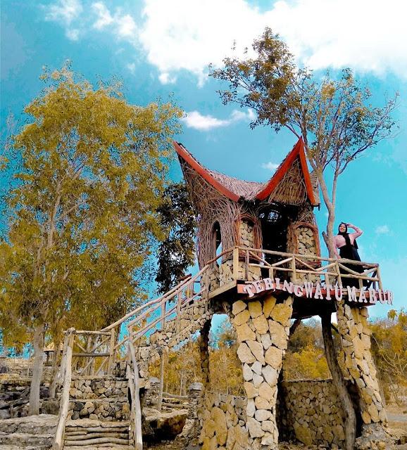 Tebing Watu Mabur Mangunan, Pesona Negeri di atas Awan