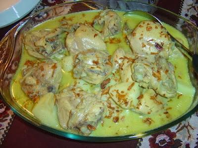 makanan khas lebaran opor