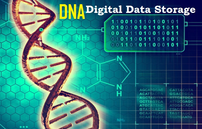 DNA digital data storage