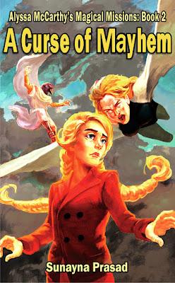 cover of A Curse of Mayhem by Sunayna Prasad
