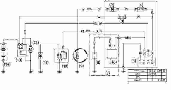 Honda GX240 GX270 GX340 GX390 Wiring Diagram Wiring Diagram