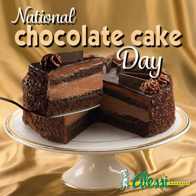 National Chocolate Cake Day Wishes Unique Image