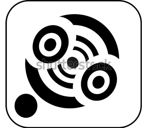 illustration download icon wi fi